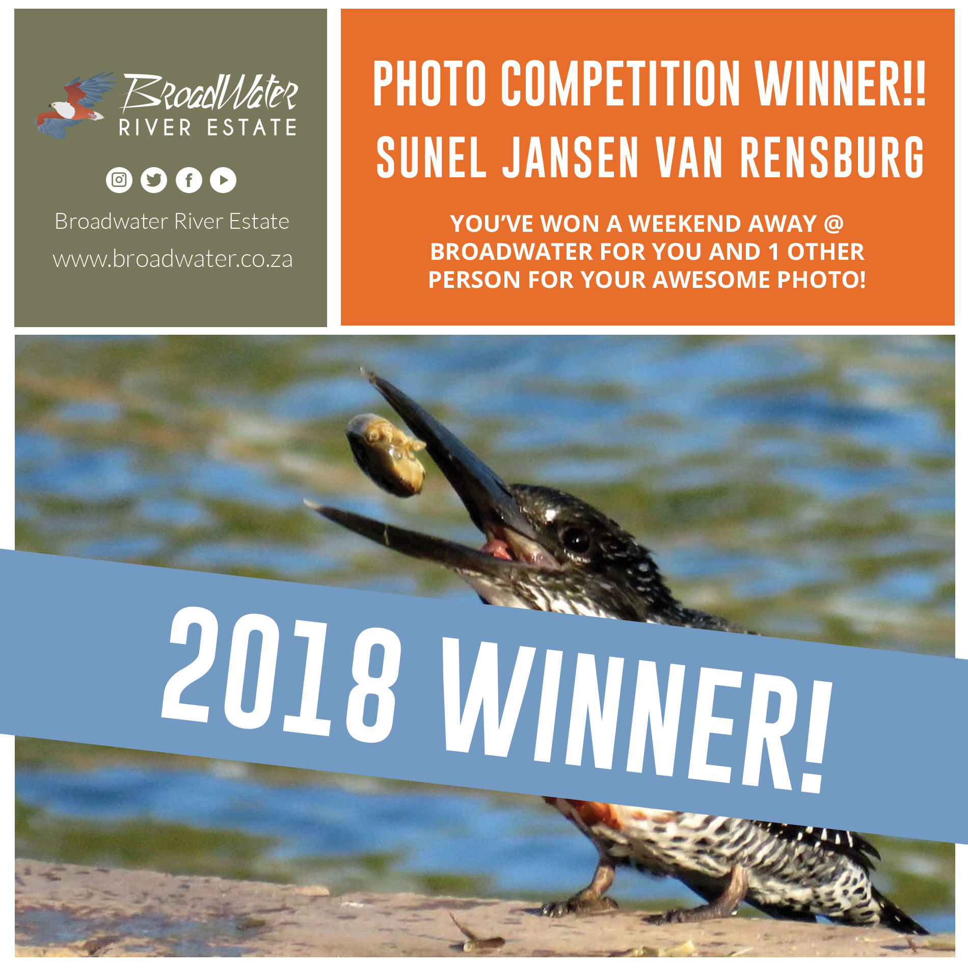 Broadwater photo competition winner 2018
