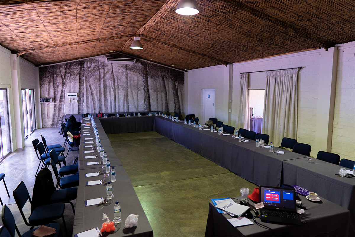 conference setup at one of broadwaters venues