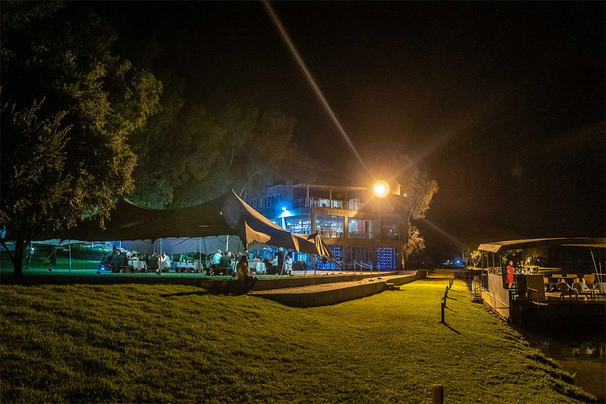 outdoor night function