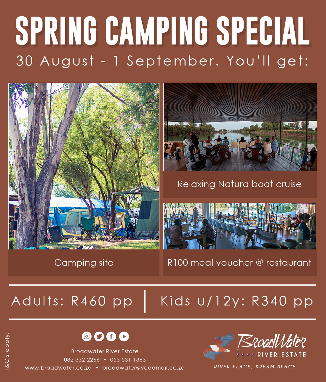 spring camping special