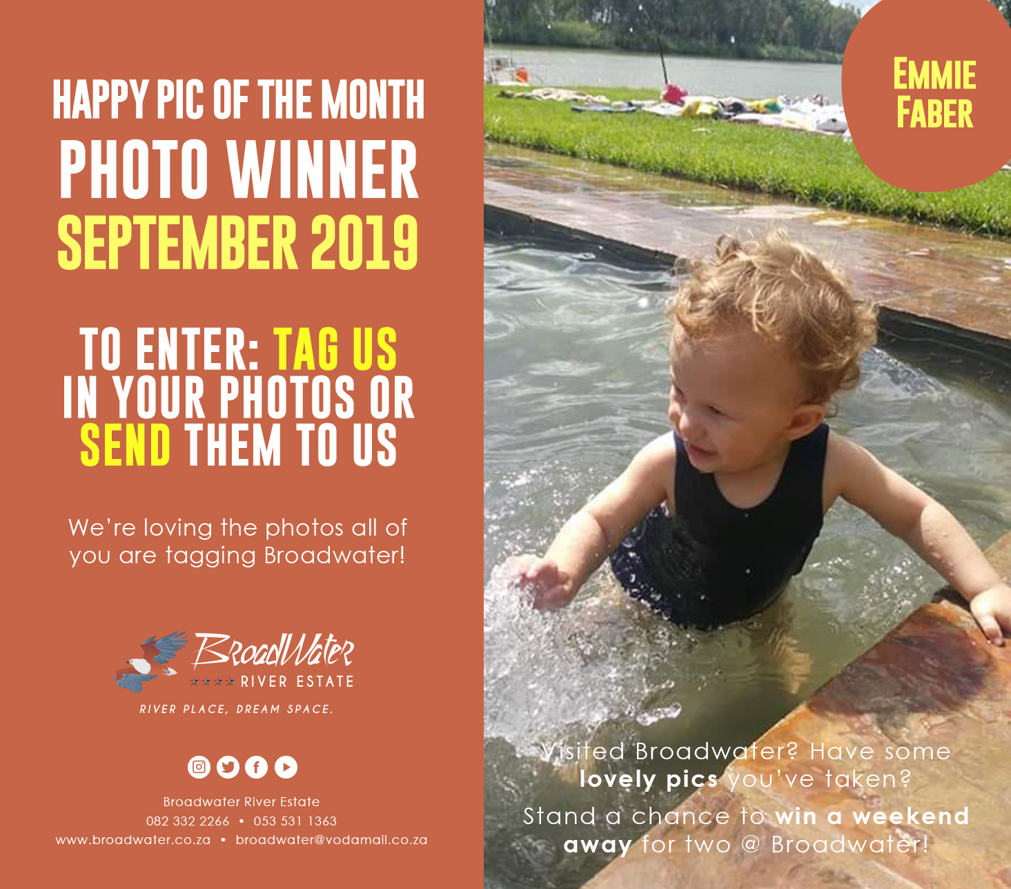 happy photo contest for september