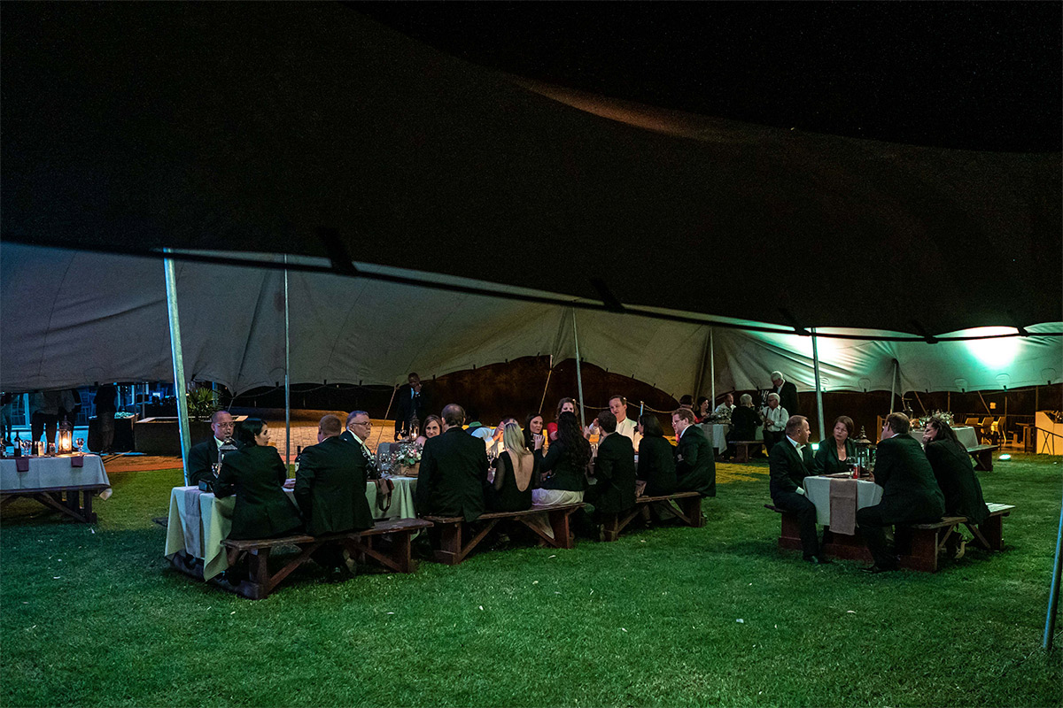 outdoor events and functions on lawn