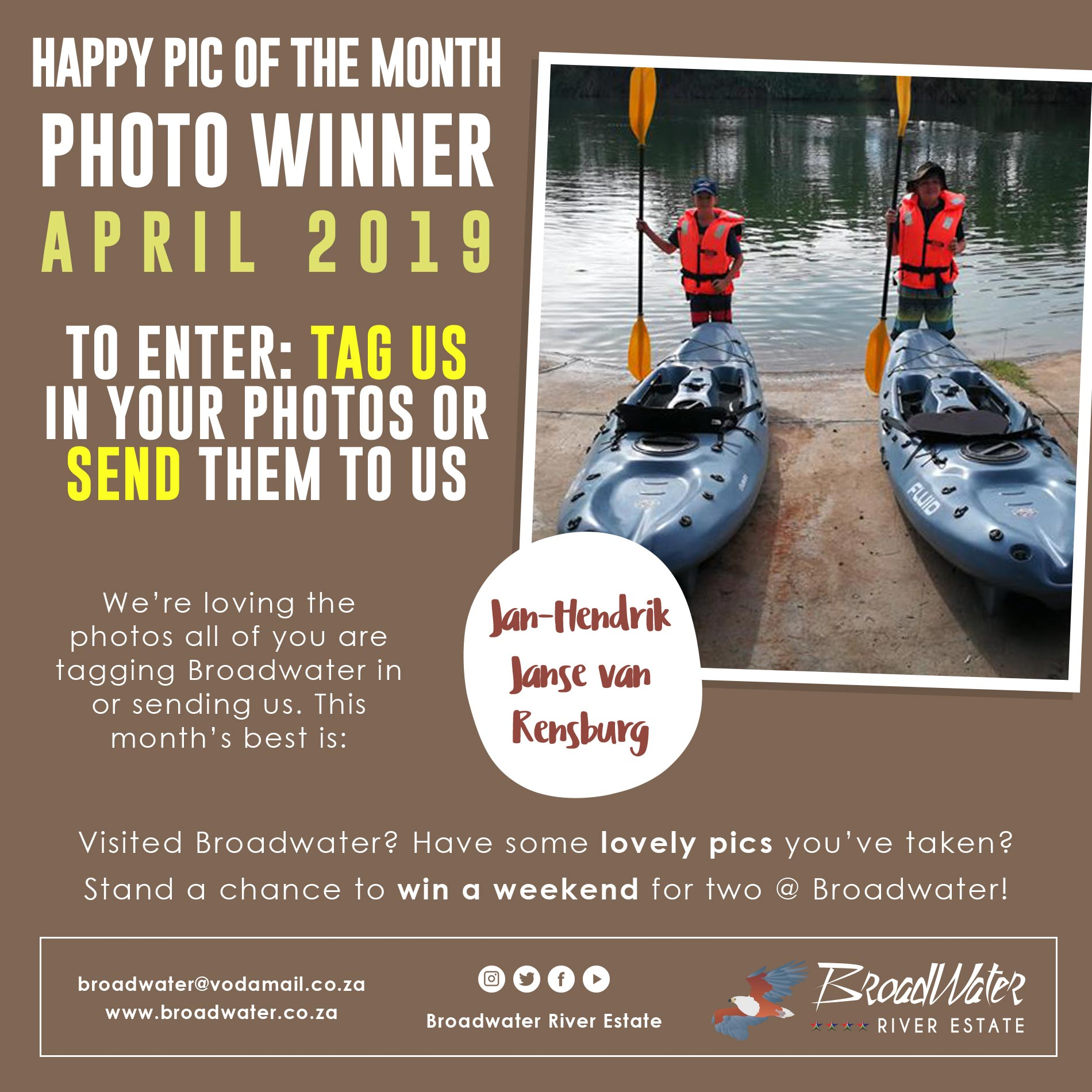 photo contest winner for april 2019
