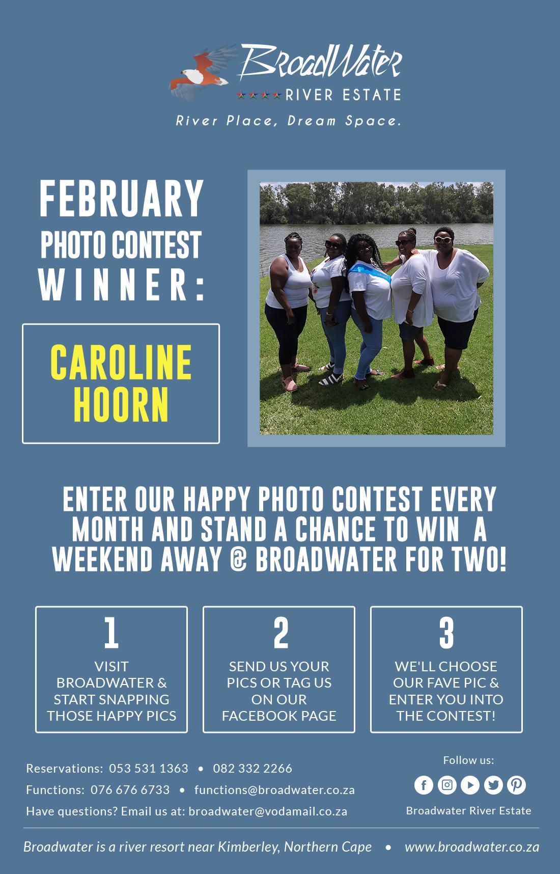 february photo contest winner